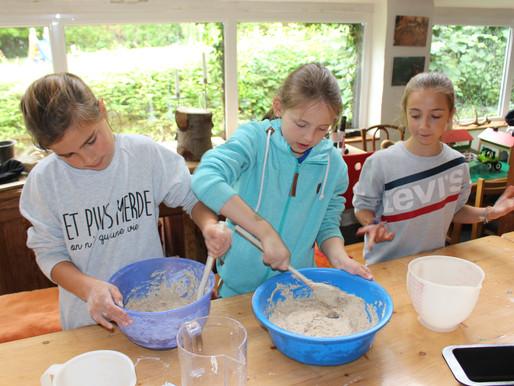 Le pain de Julia, Elsa et Alix, la recette de Daniel
