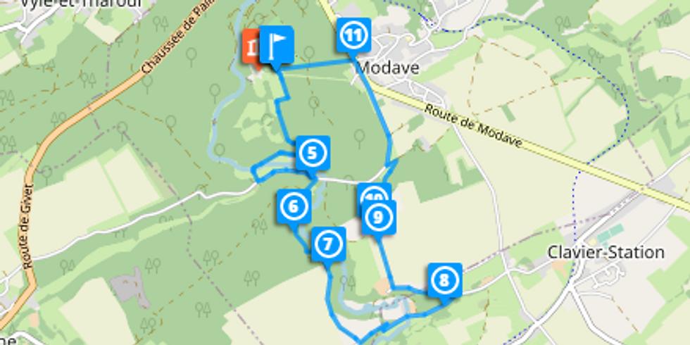 Promenade découverte à Modave