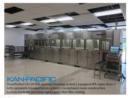 New automatic ultrasonic cleaning line installation - Newburgh-NY, USA 新的自动超声波清洗线安装 - 纽堡, 美國紐約州