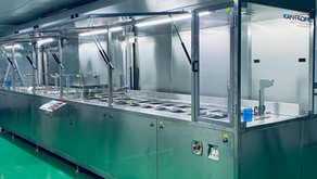 Cleaning and hard coating machine - Chile