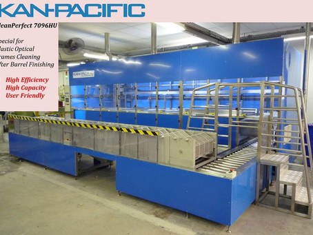New automatic cleaning line - Campinas, Brazil 新的全自动清洗线 - 巴西坎皮纳斯
