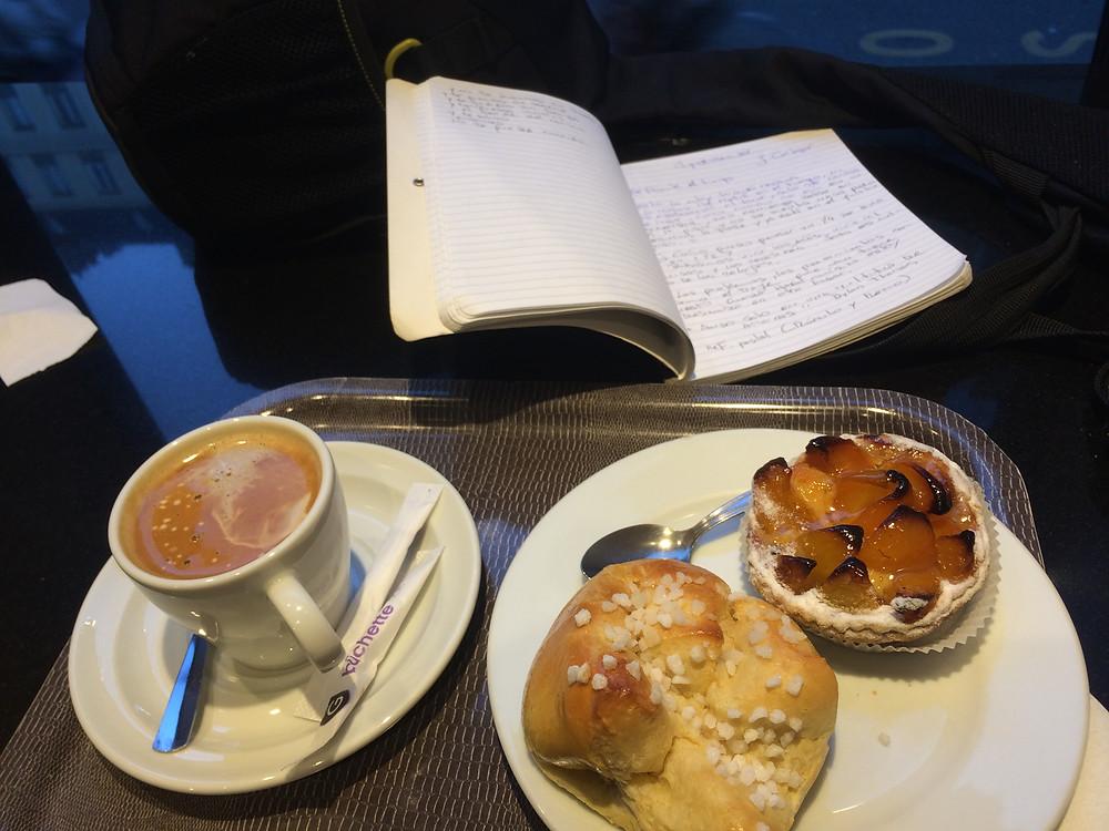 Café dans la meilleure boulangerie de Paris
