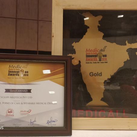 Cyclops wins Gold at Medicall 2018