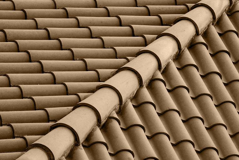 Коричневый цвет крыши