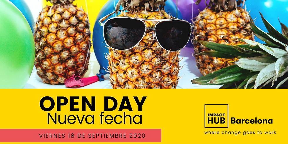 TechBloom Workshop en Impact Hub Barcelona - Open Day