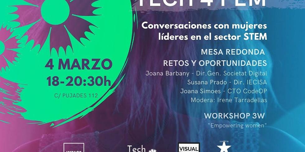 Conversaciones con mujeres líderes en el sector STEM