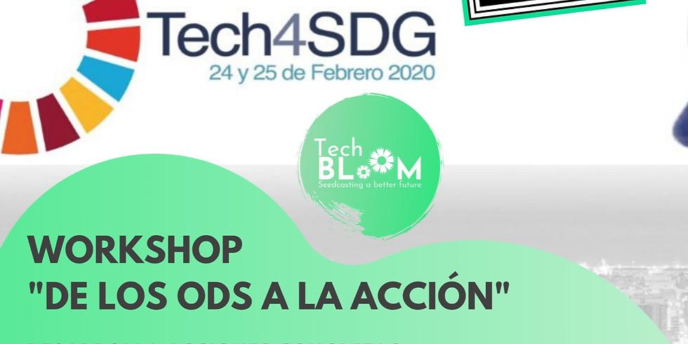 #TechSpiritBarcelona #Tech4SDG  -  (4YFN - Cancelled)