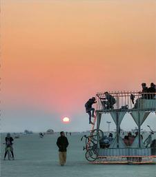 Art Cars at Burning Man