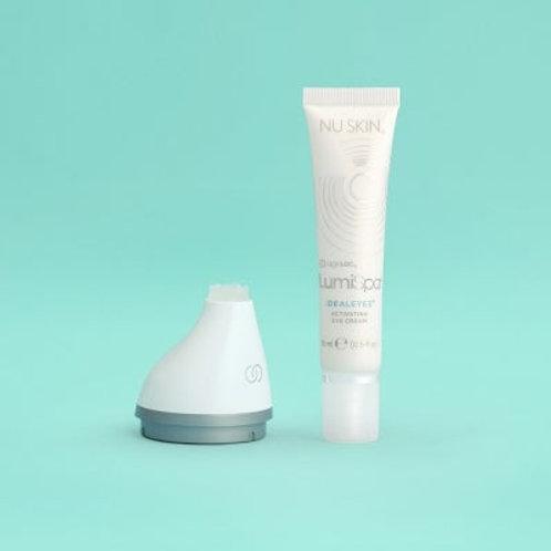 ageLOC LumiSpa Accent & IdealEyes, crème contour des yeux et tête appareil soins