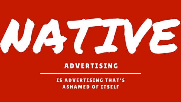 Native Advertising. Are consumers being deceived? A new study suggests this is the case.