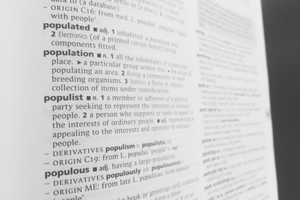 What we talk about when we talk about populism