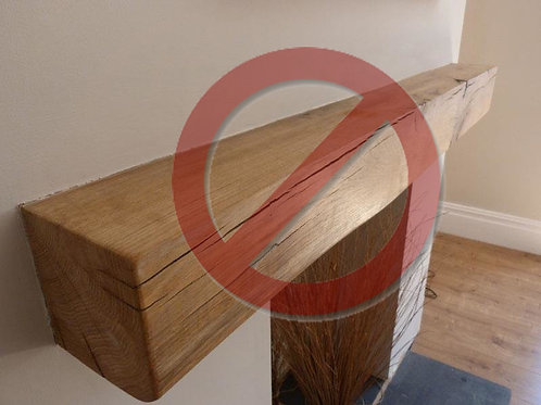 Solid Oak Beam - Not required £0
