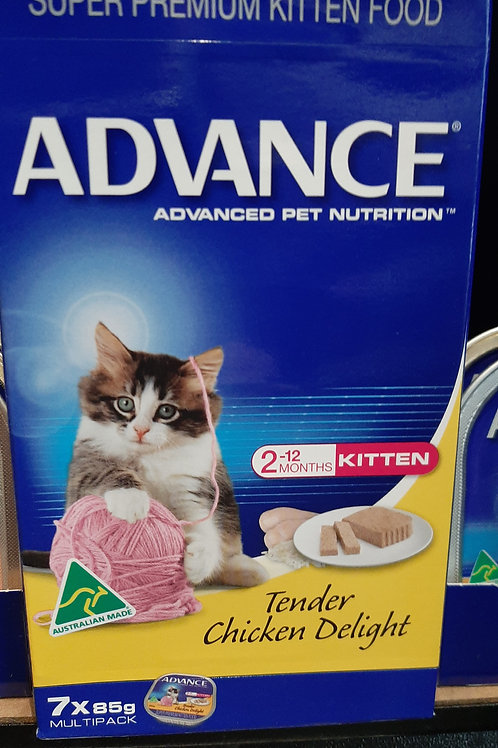 Advance cat tins 7x85g box