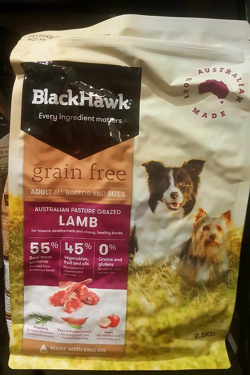 Black Hawk Grain Free Lamb