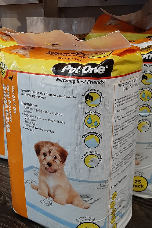 Pet One Wee Wee training pads