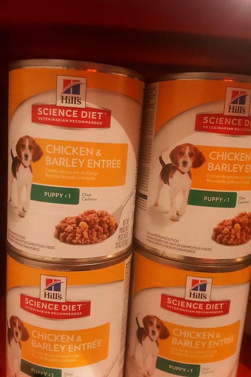 Hills Science Diet Puppy Chicken and Barley 370g