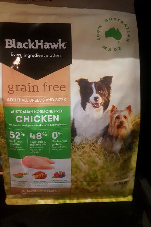 Black Hawk Grain Free Chicken