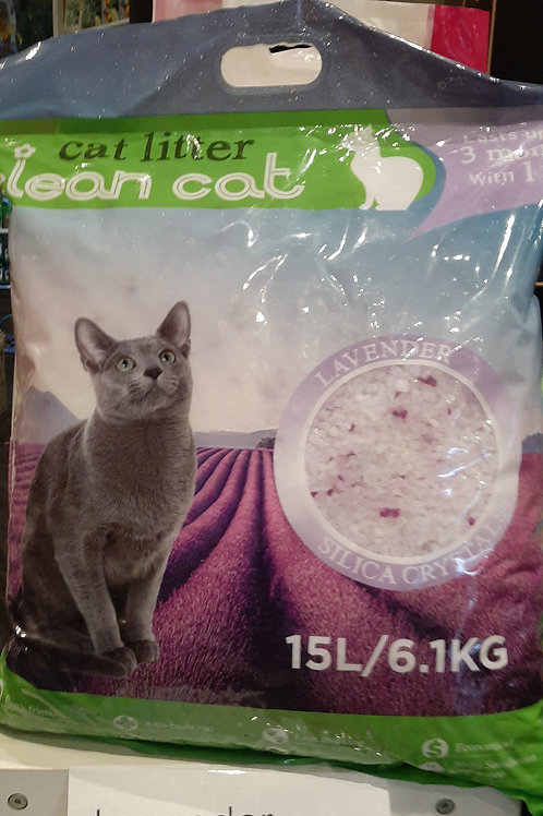 Clean Cat Crystal Litter 6.1kg