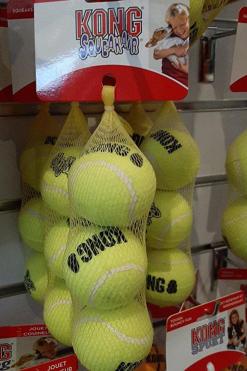 Kong squeaking tennis balls