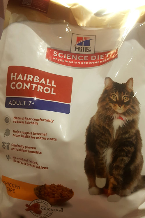 Hills Science Diet Hairball 7+