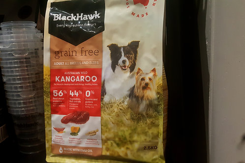 Black Hawk Grain Free Kangaroo