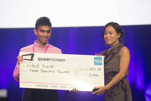 Queerscreen/Amex award