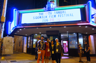 Official guests of the Sidewalk Film Festival