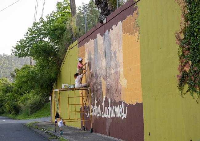 Mural Sealing