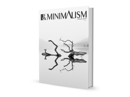 B&W Mimimalism Yearbook.
