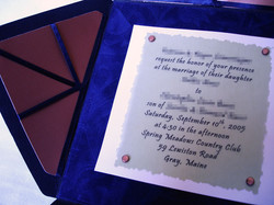 Wedding Invite 1 - Detail