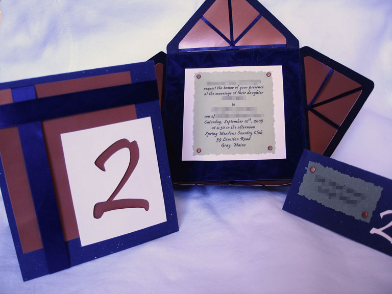Wedding Invite, Table Number, Placecard