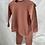 Thumbnail: Ribbed Loungewear Set in Pink