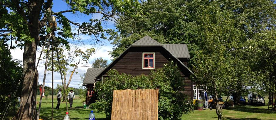 ラトビアの夏の家