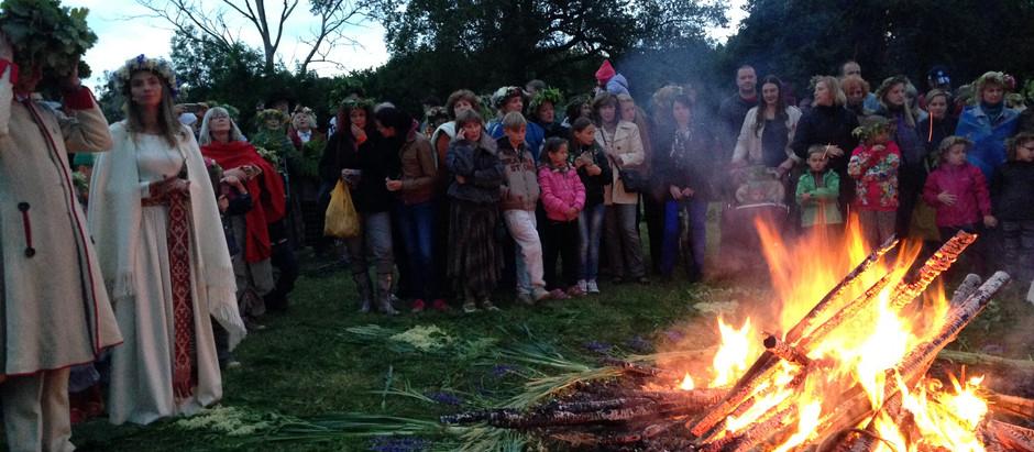 ラトビアの古代夏至祭
