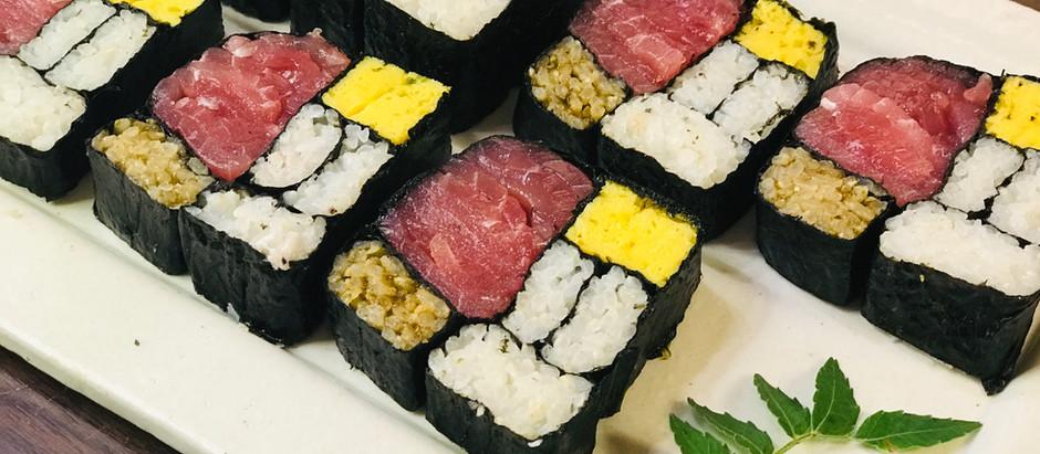 3月9日、モンドリアン寿司でお祝いしよう!