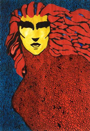 Gypsy Woman #4/ Gitana #4.