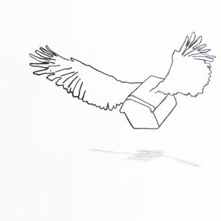 Sketch. Logo, Kattilakoski Artist in Residence Program. Finland