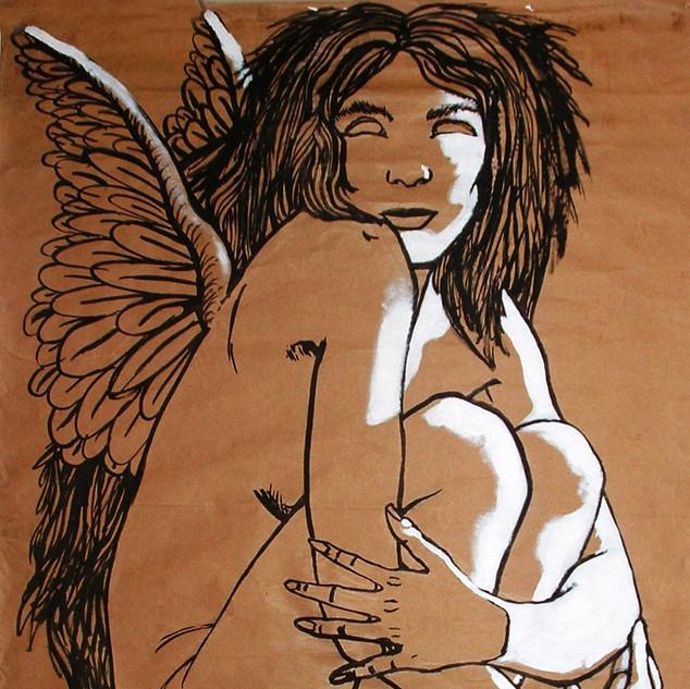 Earthly angel/ Angel terrenal.