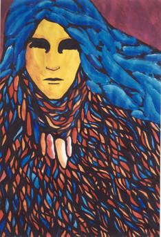 Gypsy Woman #5/ Gitana #5.