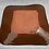 Thumbnail: Platter - terracotta decorated 50 cm x 40cm