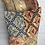 Thumbnail: Tapestry Cushion- recycled fabric samples 54 cm x 38 cm