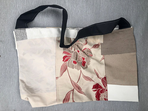 Eco Bag III - recycled fabric samples 55W cm x 37H cm no lining