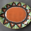 Thumbnail: Plate and Bowls Set 3 - terracotta decorated