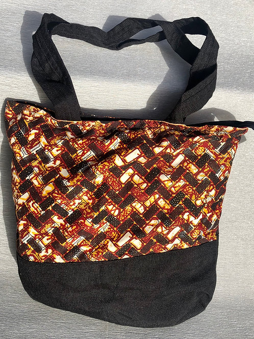 Patricia's  African Bag II - cotton 40 Wcm X 40 Hcm