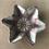 Thumbnail: Star Bowl - terracotta decorated 20 W cm x 3 H cm