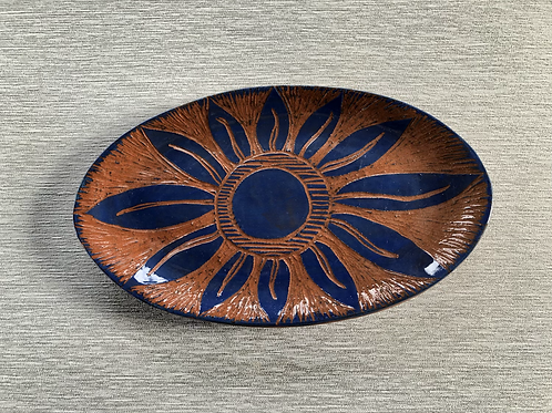 Small Oval Plate