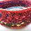 Thumbnail: Frut Bowl - recycled fruit & vegetable bags, cable and wire 31w cm x 10hcm
