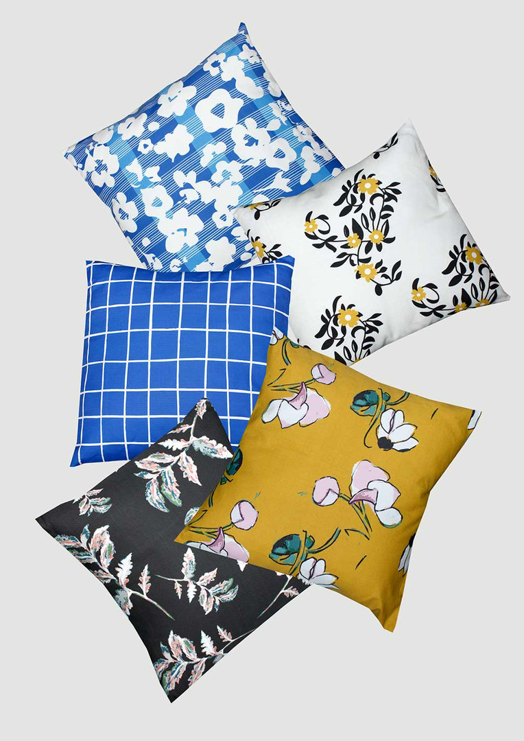 Patterned Pillows 2