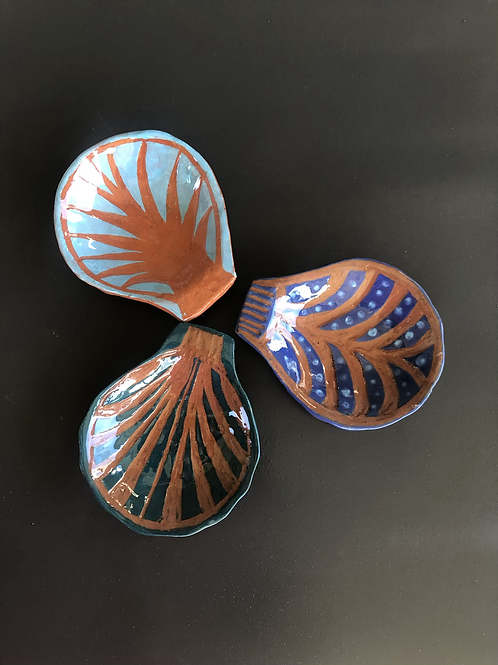 Shell Dipping Bowls 2