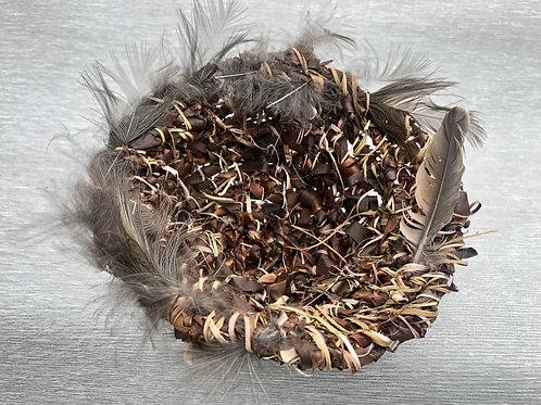 Empty Nest I - hoop pine bark 18W cm x 13H cm